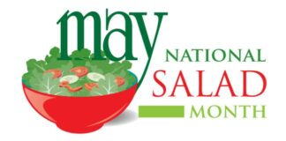 National Salad Month - Zero Calories