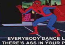 1960s Spiderman Memetage