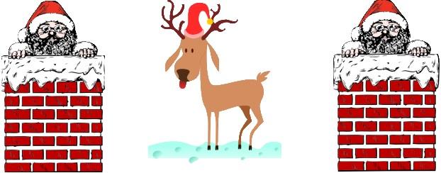 Santa, Christmas, Holiday