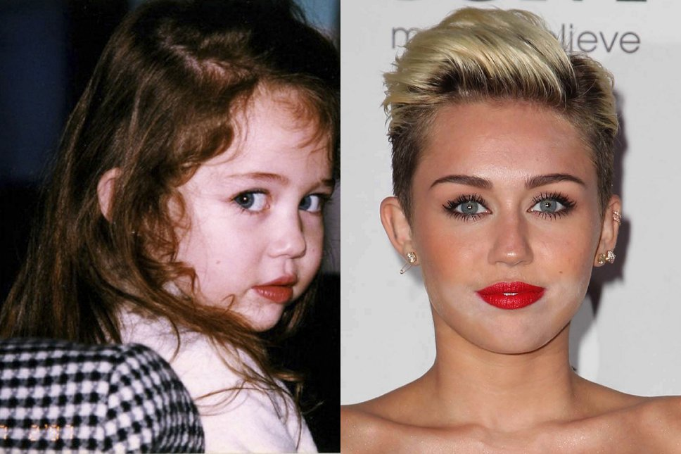 27 celebrity baby photos that show how they've changed ...
