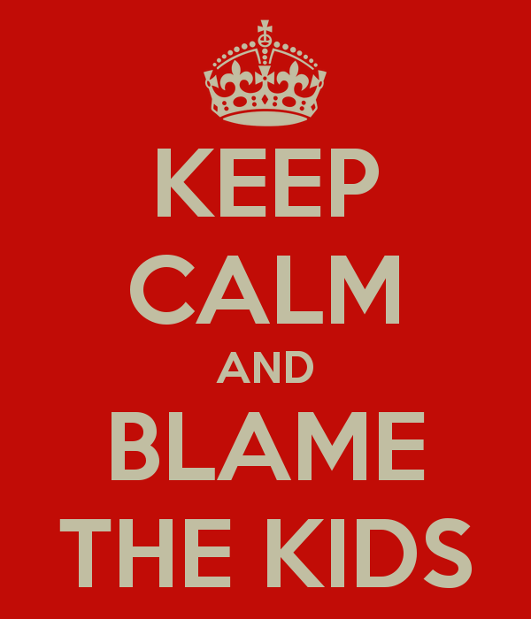 Who Done It? – Top 10 List Of 'Things I Cannot Blame On The Kids'