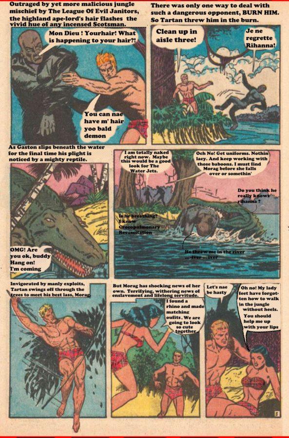 Tartan The Apeman Story1 Page 5