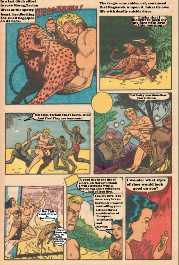 Tartan The Apeman Story1 Page unknown