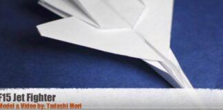 F15 Paper Plane