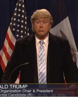 Trump and Sarah Palin SNL
