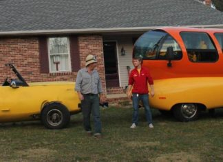 big banana car mobile oscar mayer weiner mobile