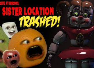 funny videos, cool people, Annoying Orange, Monkey Pickles, trailer trashed, Five Nights At Freddy's