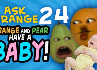 funny videos, cool people, Annoying Orange, Monkey Pickles, ask orange 24