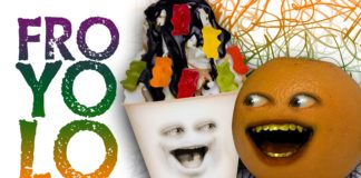 Annoying Orange, funny videos, cool people, funny people, Froyo, YOLO