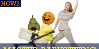 Annoying Orange, funny videos, funny people, cool people, how to babysit, how to master babysitting