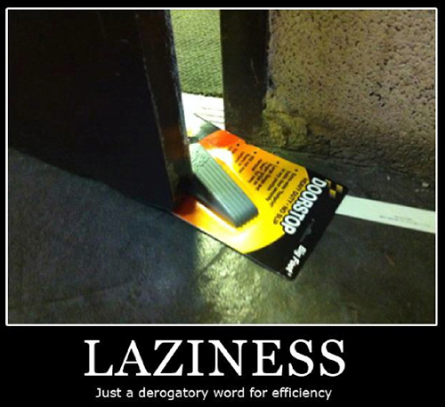 hedonism and laziness meme