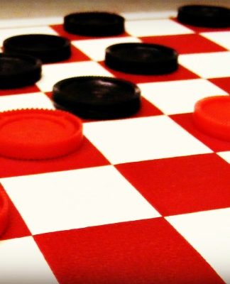 How To Play Checkers, Board Games, Gaming, Checkers