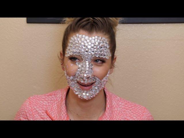 A Full Face Of Rhinestones Jenna Marbles