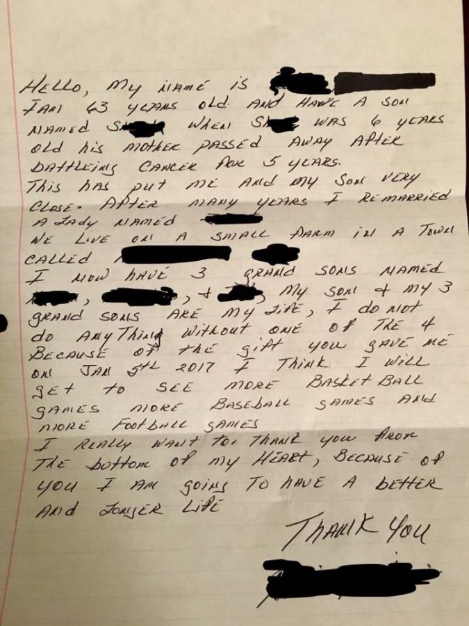 Kidney Recipient Writes Heartfelt Letter To Selfless Donor