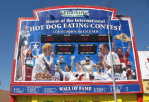Nathan's Famous Fourth of July International Hot Dog Eating Contest