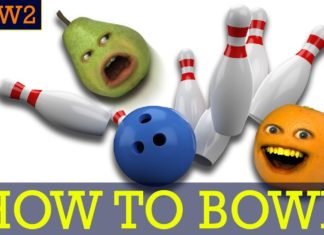 HOW TO BOWL ANNOYING ORANGE