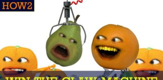 HOW2 Win the Claw Machine Annoying orange