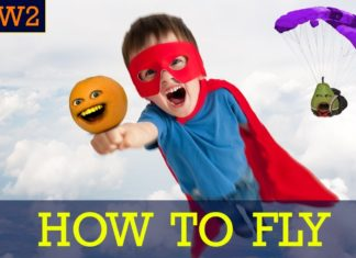 Annoying Orange How To Fly How2 Fly