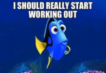 working out meme