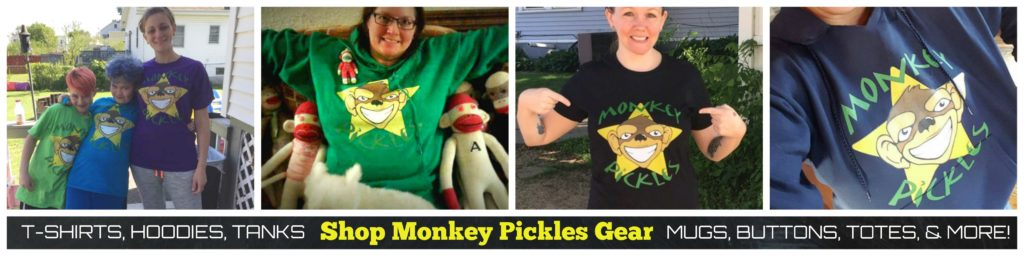 monkey pickles gear