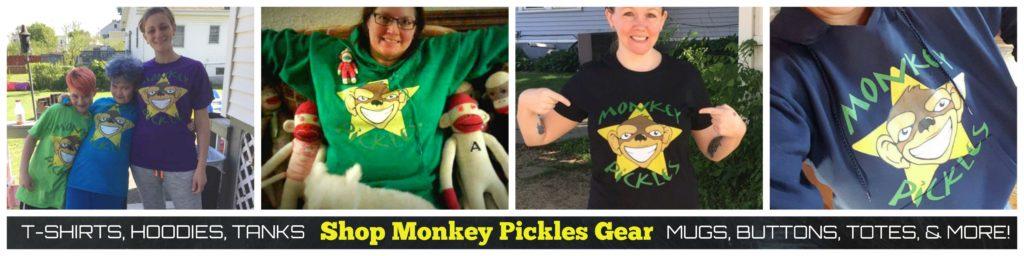 monkey pickles gear